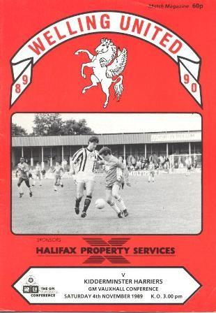 Welling United (A), 1989