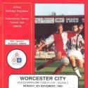Worcester City (H), 1993