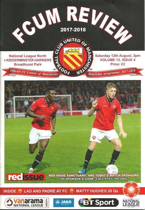 FC United of Manchester (A), 2017