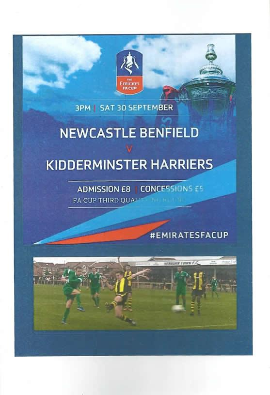 Newcastle Benfield (A), 2017