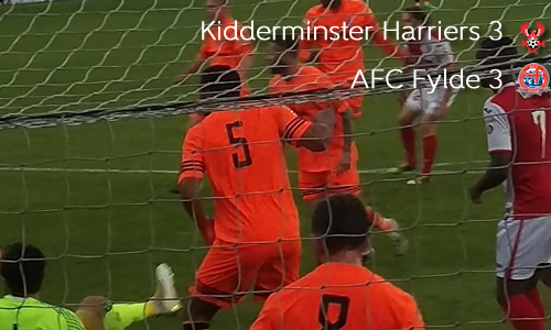Honours Even In Thriller: Harriers 3-3 AFC Fylde