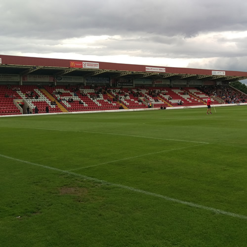 New Stadium For Harriers