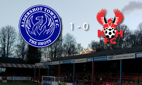 Harriers Slump Again: Aldershot Town 1-0 Harriers