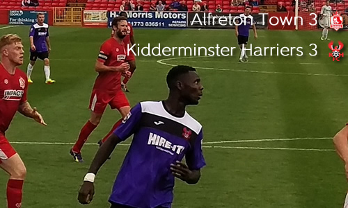 Second Half Comeback Saves Point: Alfreton Town 3-3 Harriers