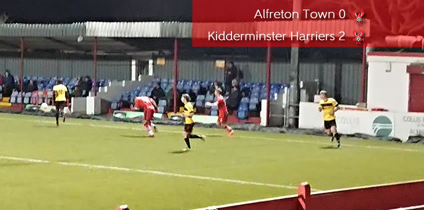 Patience The Key For Harriers: Alfreton Town 0-2 Harriers
