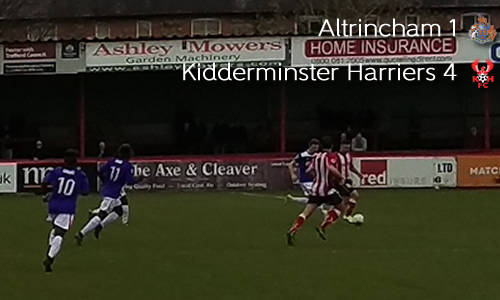Harriers Clinch Play-Off Spot: Altrincham 1-4 Harriers