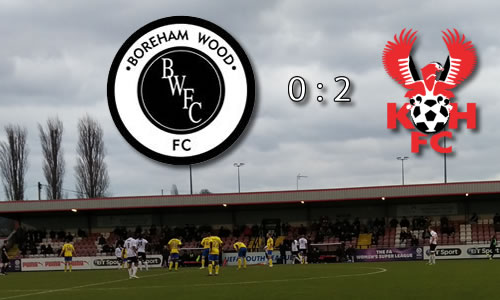 Harriers In Away Win Shocker: Boreham Wood 0-2 Harriers