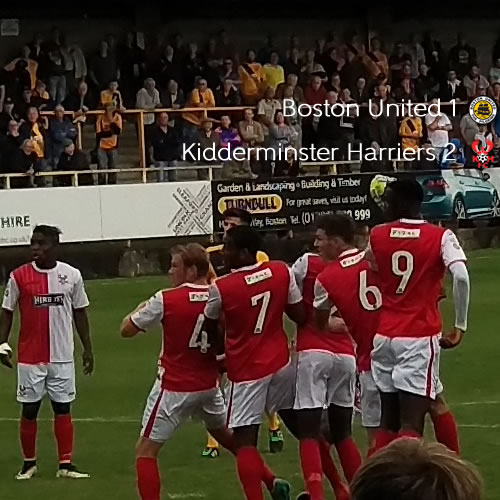 Pilgrims Weather The Storm To Grab Point: Boston United 1-1 Harriers