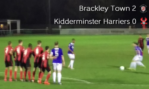 Wasted Opportunity: Brackley Town 2-0 Harriers