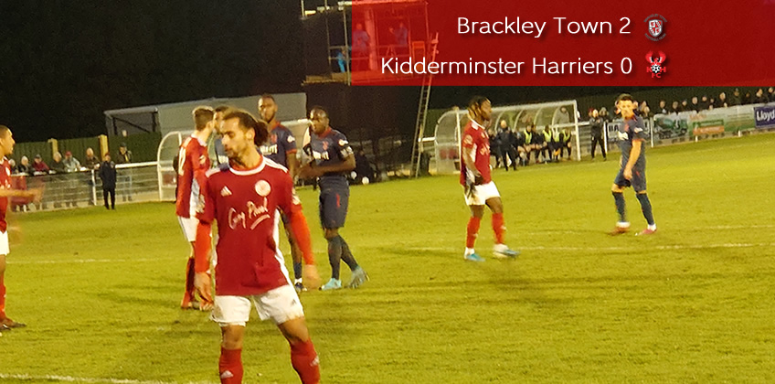 Foiled By Old Boy: Brackley Town 2-0 Harriers