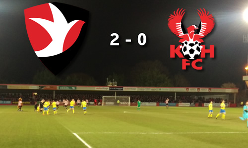 Leaders Slow Harriers Charge: Cheltenham Town 2-0 Harriers