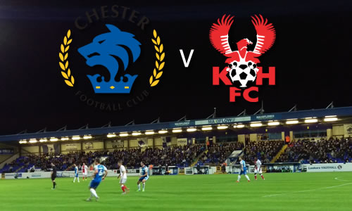 Harriers Slump Again: Chester 3-1 Harriers