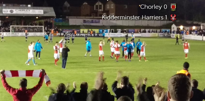 First Blood To Harriers: Chorley 0-1 Harriers