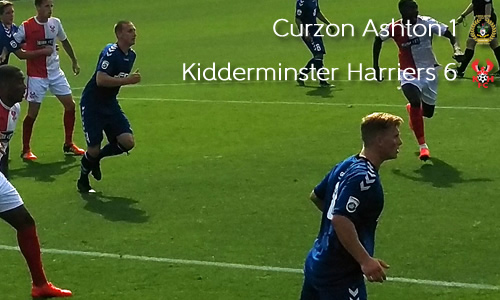 Harriers Cruise To Opening Day Win: Curzon Ashton 1-6 Harriers
