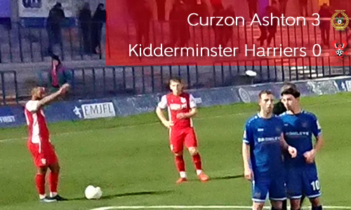 Trophy Embarrassment For Harriers: Curzon Ashton 3-0 Harriers