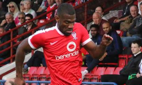 Harriers Sign Attacker Nti