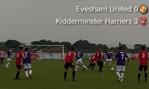Youngsters Into Senior Cup Final: Evesham United 0-3 Harriers