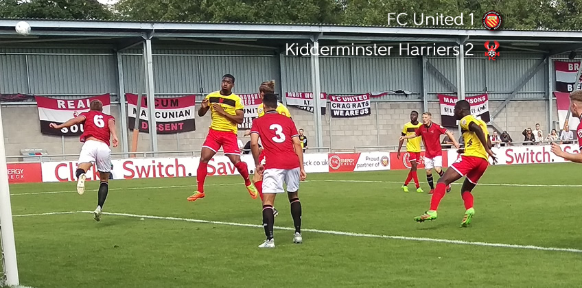 Sonupe Is The Man-ny For Harriers: FC United 1-2 Harriers