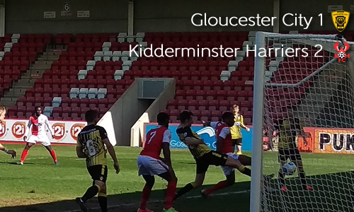 Harriers Keep Pressure On Leaders: Gloucester City 1-2 Harriers