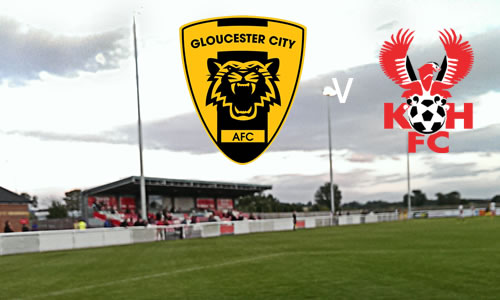 Another Draw For Harriers: Gloucester City 1-1 Harriers