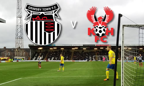 Harriers Back On The Bottom: Grimsby Town 1-0 Harriers