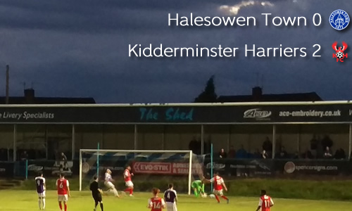 Young Harriers Looking Strong Again: Halesowen Town 0-2 Harriers