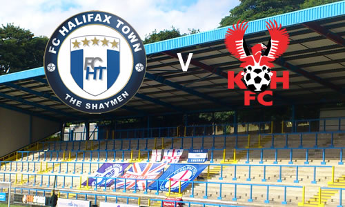 Still Looking For A Win: FC Halifax Town 1-1 Harriers