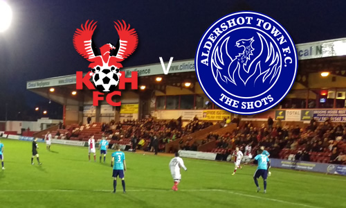 Shots Shut Down: Harriers 2-0 Aldershot Town