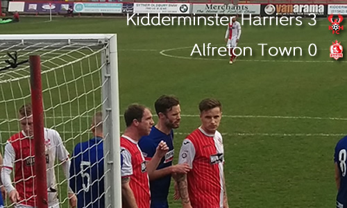 Harriers Bounce Back With Vital Win: Harriers 3-0 Alfreton Town