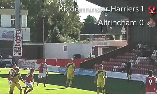 Robins' Wings Clipped: Harriers 1-0 Altrincham
