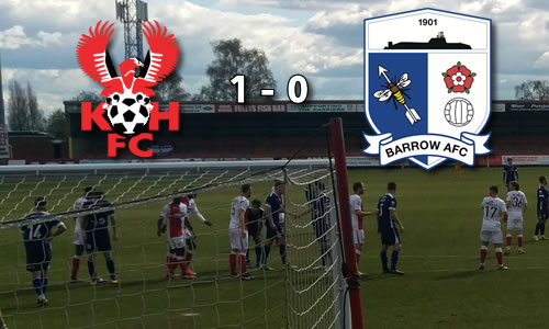 Relegated: Harriers 0-0 Barrow