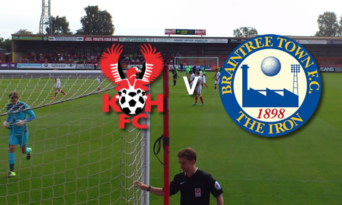Sorry Harriers Slip Again: Harriers 0-1 Braintree Town