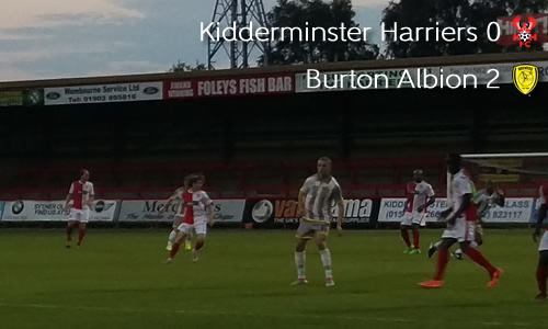 Harriers Given Tough Test By Brewers: Harriers 0-2 Burton Albion