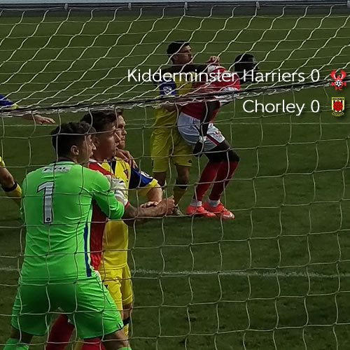 Hornby Save Earns A Point: Harriers 0-0 Chorley