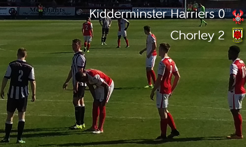 Season Ends In Disappointment: Harriers 0-2 Chorley