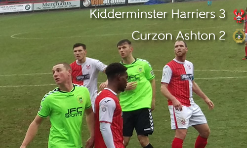 Sleepy Harriers Nearly Throw Away Win: Harriers 3-2 Curzon Ashton