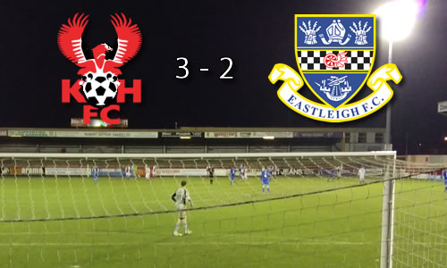 Harriers On The Rise: Harriers 3-2 Eastleigh