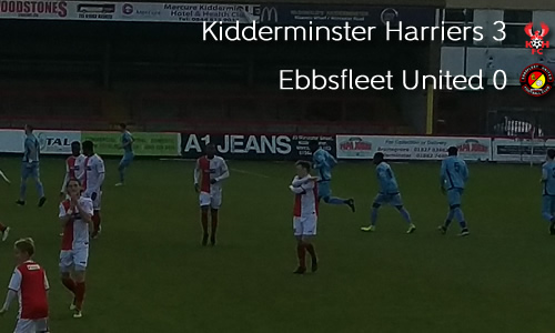 Trophy Win Has Harriers Back On Track: Harriers 3-0 Ebbsfleet United