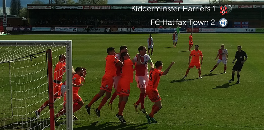 Harriers Run Ended By Rivals: Harriers 1-2 FC Halifax Town