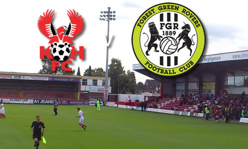 Victory Still Proving Elusive: Harriers 0-2 Forest Green Rovers