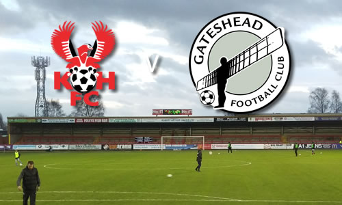 Harriers Hit By Last-Gasp Sickener: Harriers 0-1 Gateshead