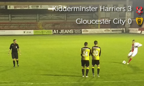 Tigers Roar Silenced: Harriers 3-0 Gloucester City