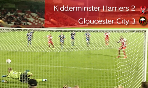 Gloucester Comeback Stuns Harriers: Harriers 2-3 Gloucester City
