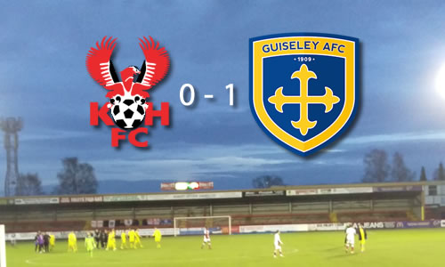 Seventh Hell For Harriers; Harriers 0-1 Guiseley