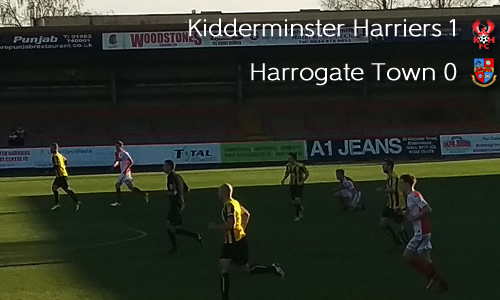 Record Breaking Harriers Sneak Late Win: Harriers 1-0 Harrogate Town