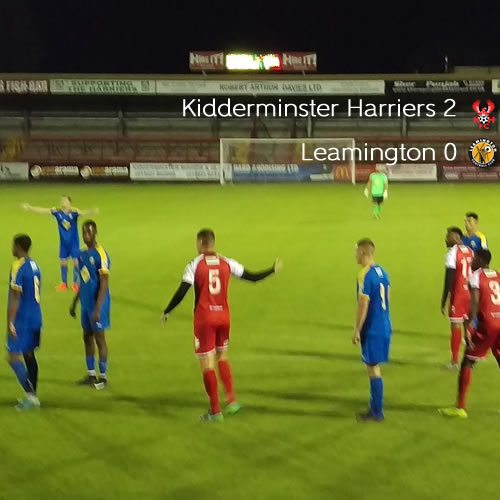 Patience Pays Off For Harriers: Harriers 2-0 Leamington