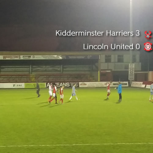 Harriers Comfortably Into Next Round: Harriers 3-0 Lincoln United