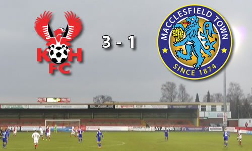 Harriers Breeze Past Silkmen: Harriers 3-1 Macclesfield Town