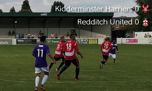 Harriers Lift Senior Cup: Harriers 0-0 Redditch United