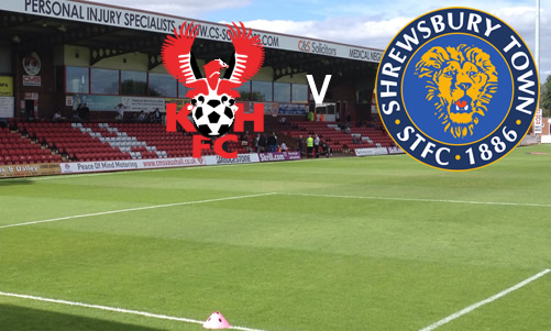Unlucky In Defeat: Harriers 0-2 Shrewsbury Town